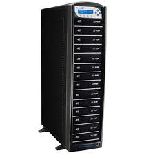 1-14 Blu-ray DVD CD Duplicator 500GB HDD USB 3.0 CopyProtection SharkBlu-S14T-BK