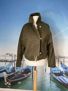COS khaki summer jacket, size eur 38 UK 12