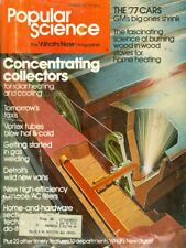 1976 Popular Science Magazine: Concentrating Collectors for Solar Heating