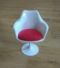 1/6 Tulip chair modern Chair Miniature BJD doll chair 13cm tall New