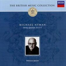 The British Music Collection: Michael Nyman - String Quartets, , Good