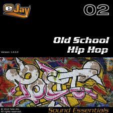 🥇 eJay Old School Hip Hop Sound Essential, samples loops, WAV, Audio, DAW, Rap.
