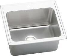Elkay DLR2522103 Single Basin Stainless Steel Kitchen Sink