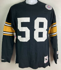 Mitchell & Ness Mens Vintage Jack Lambert Jersey/Sweatshirt Steelers Size Large