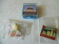 Lot Of 3 Grand Convention Elks Pins - Chicago, Las Vegas, Portland (Oregon)