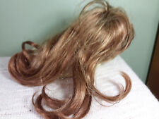 New LaSiouy Doll Wig 10-11 Long Straight Lt. Brown No Tags