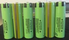 "Brand New ""6""  Panasonic NCR18650BE 3.7V 3200mAh Rechargeable Battery Protected"