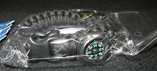 Skoal Multifunction Utility Paracord Wrist Band Compass Keychain  Box 4