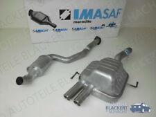 IMASAF Exhaust System from Kat Alfa 147 3.2 GTA CENTRE MUFFLER + END SILENCER