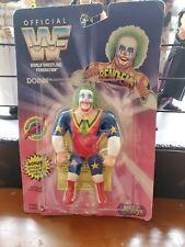 WWF Justoys Bendems Doink The Clown Series 1 WWE Bendies 1994 NIP