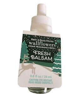 Bath & Body Wallflowers Home Fragrance Refill ~Fresh Balsam~New 0.8 Oz