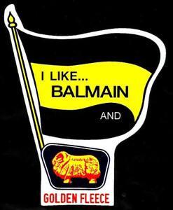I LIKE BALMAIN & GOLDEN FLEECE Vinyl Decal Sticker THE TIGERS NRL