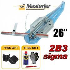 SIGMA 2B3 MANUAL DRY TILE CUTTER CUTTING MACHINE CUT 26 INCHES