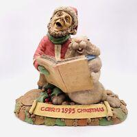"Cairn Studio Tom Clark Gnome Signed Christmas 1995 Santa Tim Wolfe Rabbit #54 6"""