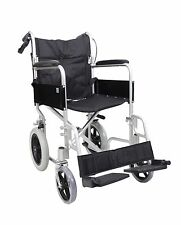 AMW004 Lightweight Aluminium Folding Transit Travel Wheelchair Weighs 11 KG