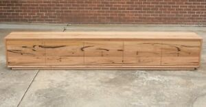 Anglesea 6 TV Unit - Solid Blackbutt Timber - Australian Made