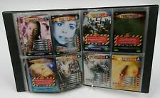 Bbc 2006/7 Doctor Who Battles in Time 60 x Mixed Collector's Cards in Binder E2
