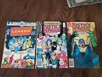 Justice League of America #124. 1975 #24,25 (1989) DC Comics Ungraded