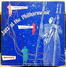 "NORMAN GRANZ jazz at the philharmonic vol. 8 VG MG-VOL. 8 Rare Clef 10"" US 1953"