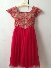 Monsoon Baby Estella Red Dress Age 18-24 Months