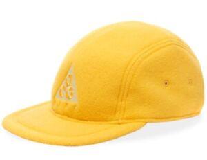 Nike ACG AW84 Fleece Strapback Hat Yellow Cap Hat BV1050-319