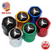 Hex NBA Jordan Sport Logo Car Wheels Tire Air Valve Caps Stem Dust Cover Limited