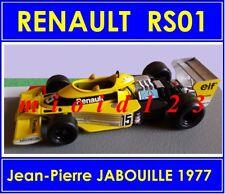1/43 - RENAULT RS01 : Jean Pierre JABOUILLE - 1977 - Die-cast - FORMULA 1