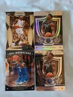 2019-20 Prizm Draft Zion Williamson Lot X4 With Silver Pelicans Rc!!!