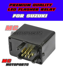 For Suzuki Flasher Relay LED GSXR600 GSXR750 GSF 1250 650 S Bandit DR-Z 400 GSX