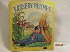 Nursery Rhymes Tell-A-Tale Books by Whitman #2511 Louise Altson Copyright 1945