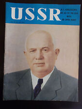 1959 USSR Illustrated Monthly No.10 Great Articles Great Illustrations