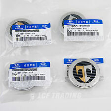 "Hyundai Tuscani Tiburon 17"" Wheel Center Caps Set of 4 *GENUINE OEM* US Seller"