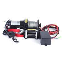 2000 Pound Electric Winch 12V ATV 4-Wheeler Recovery UTV lb Cable New
