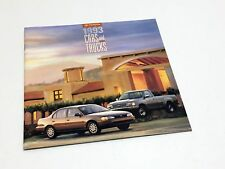 1993 Toyota Tercel Camry Corolla Paseo Celica MR2 Previa 4Runner T100 Brochure