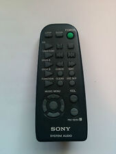 OEM SONY RM-SD50 AUDIO SYSTEM REMOTE CONTROL HCD-D570 tested
