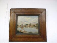 Huile sur toile signée Louis Galichon
