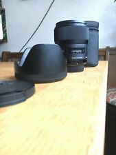 Sigma 35mm f1.4 style Nikon great condition near new, used