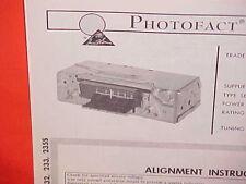 1966 DODGE CHARGER CORONET 500 POLARA CONVERTIBLE MONACO AM RADIO SERVICE MANUAL