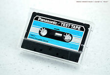Panasonic/Matsushita qzzc-a partir de Head azimuth 8khz - 20db test tape cassette Deck nos