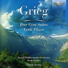 H kon Austb, E. Grie - Peer Gynt Suites: Lyric Pieces [New CD]