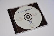 Sega DREAMCAST ~ QUAKE III ARENA ~ white label promo ~ Solo Disco * *
