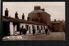 Cullercoats, Old Houses - north of Tynemouth - real photographic postcard