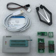 Xgecu Tl866ii Plus Usb Programmer For Spi Flash Nand Eeprom 8051 Mcu 4 Adapters