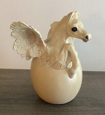 Windstone Editions Pegasus Hatching Egg White Pena 1991