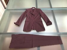 TAILLEUR PANTALONE BORDEAUX SPORTSTAFF Made In Italy   Tg 44