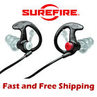 Surefire EP4 EarPro Sonic Defenders PLUS Ear Plug Protection Black Medium w/Case