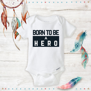 Born Hero Military Police Unisex Baby newborn clothes Baby Shower Gifts 69