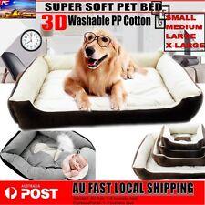 Heavy Duty Pet Bed Mattress Dog Cat Pad Mat Cushion Extra Large Medium Small NEW