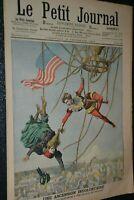 Le petit journal Supplément illustré N°826 / 16-9-1906 / Ascension involontaire