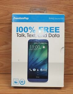 FreedomPop - HTC Desire 510 4G LTE CDMA Cell / Smart Phone NEW IN BOX **READ**